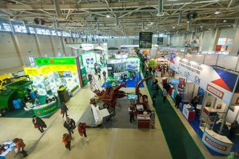 """AGROFARM 2018"" EXHIBITION  FROM 6 TO 8 FEBRUARY AT VDNKH"