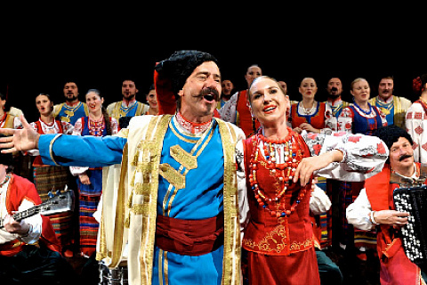 ZDOB SI ZDUB AND THE KUBAN COSSACK CHOIR, AUGUST 2 AT VDNKh