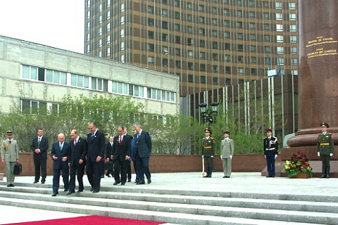 MONUMENT TO CHARLES DE GAULLE IS NOW OPEN! On the Victory Day, 9 May 2005 the square in fr...