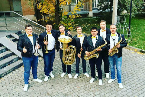"Brass Band ""Polite People"", July 26 at VDNKh"